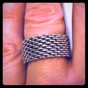 Tiffany's Mesh Ring